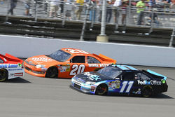 Denny Hamlin, Joe Gibbs Racing Toyota and Joey Logano, Joe Gibbs Racing Toyota