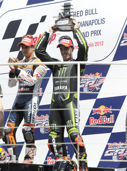 Podium: third place Andrea Dovizioso, Yamaha Tech 3