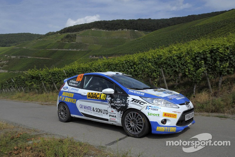 Alastair Fisher and Daniel Barrit, Ford Fiesta R2