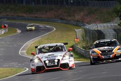 #272 Raeder Motorsport Audi TT RS: Christoph Breuer, Patrik Kaiser