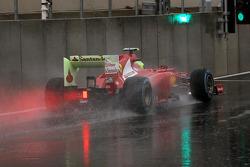 Felipe Massa, Ferrari verlaat de pits