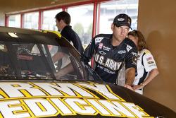 Stewart-Haas Racing crew member