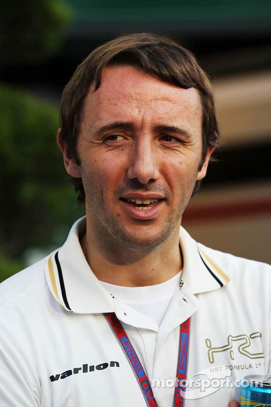 Saul Ruiz de Marcos, HRT Formula 1 Team CEO