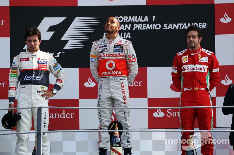Fernando Alonso, 3º en el GP de Italia 2012