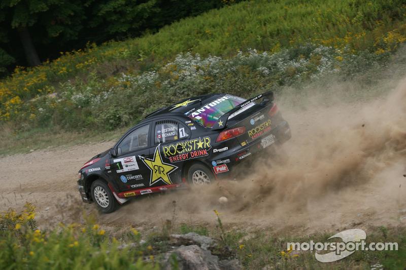 Antoine L'Estage and Nathalie Richard, Mitsubishi EVO X