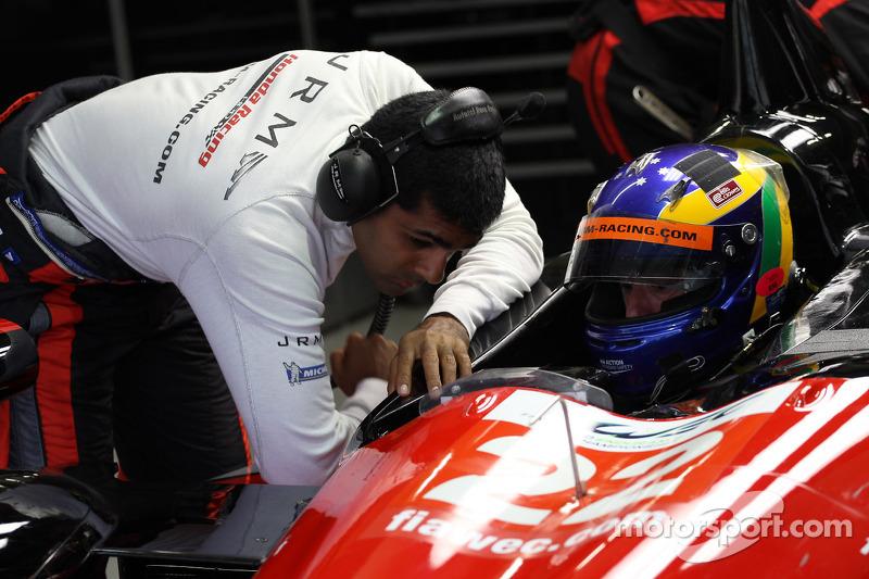 Karun Chandhok en David Brabham