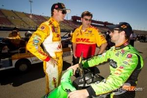 Ryan Hunter-Reay, Andretti Autosport Chevrolet and James Hinchcliffe, Andretti Autosport Chevrolet
