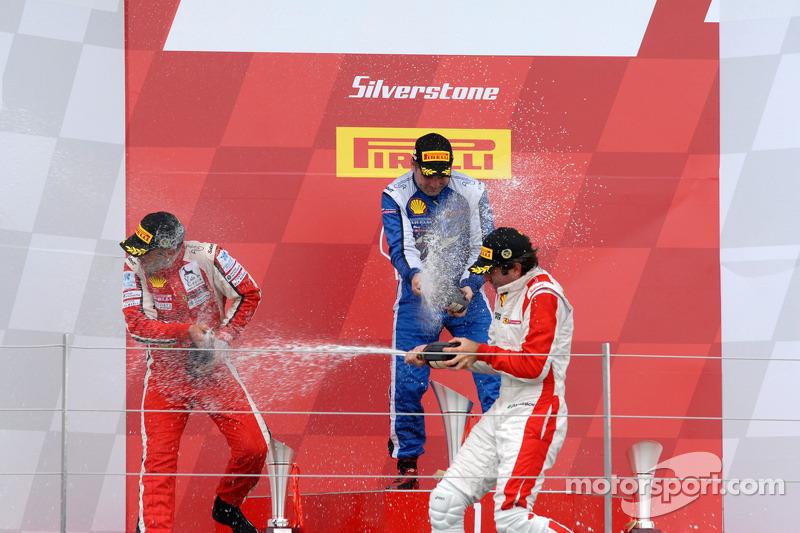 Round 6 Race 2 Ferrari Trofeo Pirelli-Coppa Shell Podium