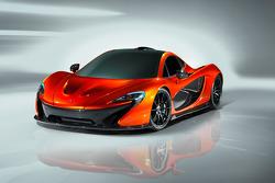 McLaren P1 studio shoot
