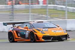 #111 Rhino's Leipert Motorsport Lamborghini Gallardo LP600: Hari Proczyk, David Mengesdorf
