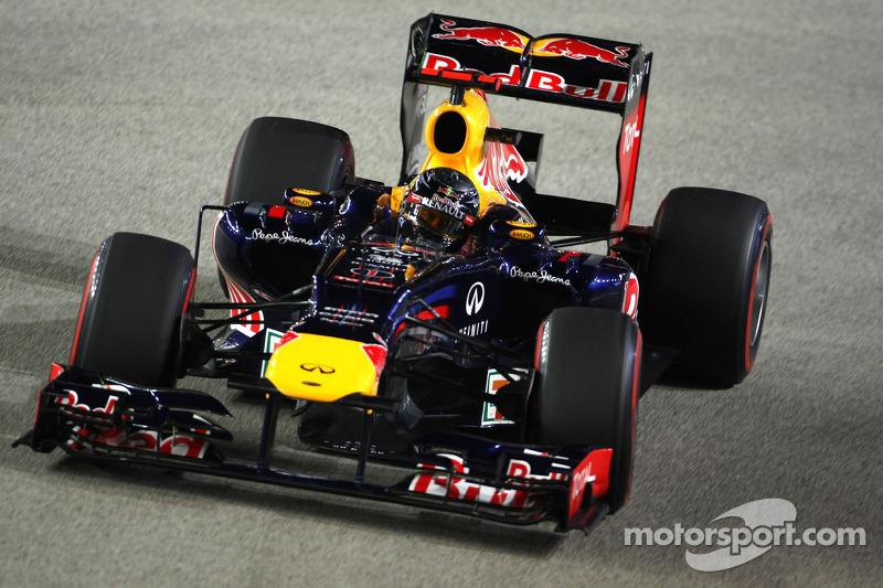 2012 : Sebastian Vettel, Red Bull-Renault RB8