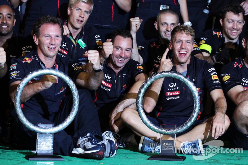 2012 - Grand Prix von Singapur: Sebastian Vettel, Red Bull Racing RB8