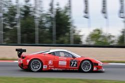 #72 Kessel Racing Ferrari 458 Italia: Pierre Bruneau, Claude-Yves Gosselin, Marc Rostan