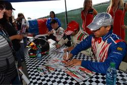 Autograph session, Stefano D'aste, BMW 320 TC, Wiechers-Sport
