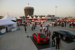 Bahrain circuit atmosphere