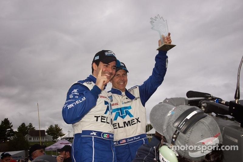 DP Season Champions #01 Telmex Chip Ganassi Racing with Felix Sabates BMW-Riley: Scott Pruett, Memo Rojas