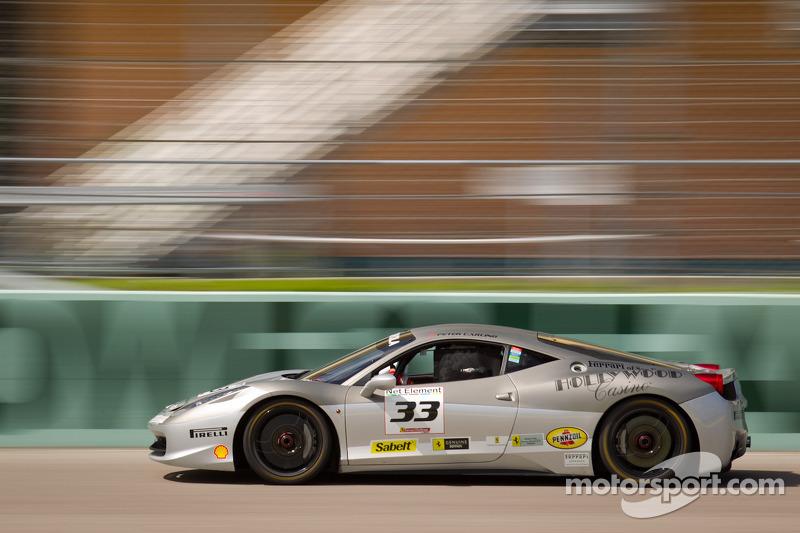 #33 Ferrari of San Francisco 458CS: Peter Carlino