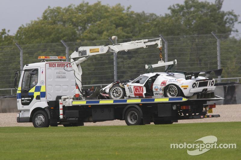 Crash For  Sunred Ford Gt Benjamin Lariche Laurent Groppi