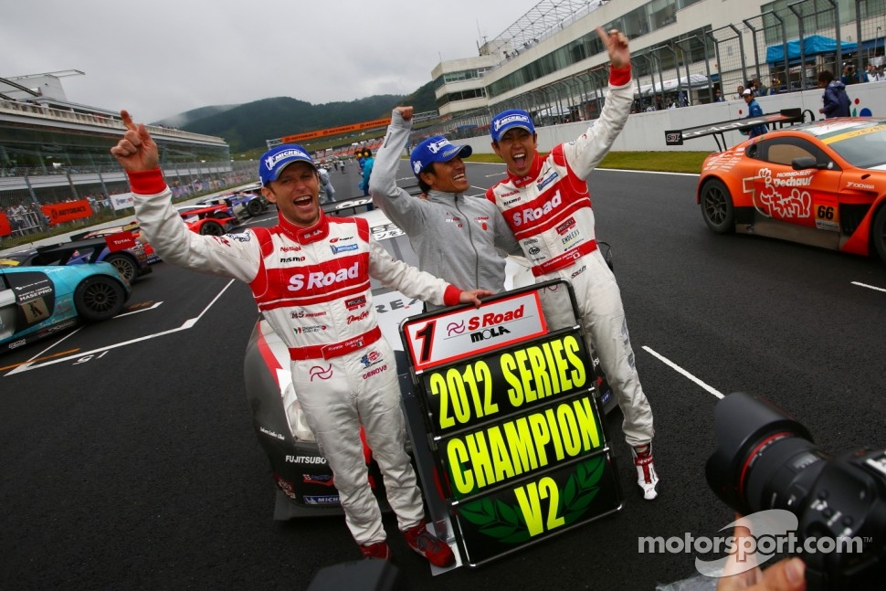 GT500 champions Masataka Yanagida, Ronnie Quintarelli