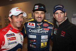 Sébastien Loeb, Yvan Muller and Romain Dumas
