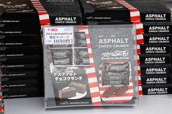 Ashphalt Choco Crunch on sale in the fans' merchandise area
