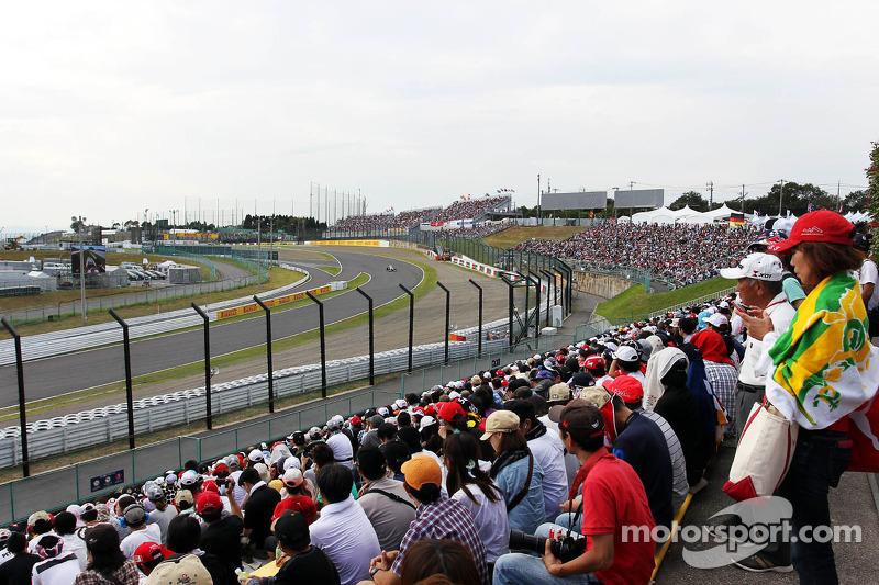 Fans en Kamui Kobayashi, Sauber