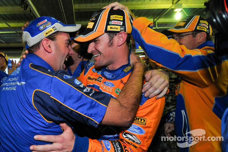 Will Davison, Trading Post FPR Ford celebrates pole