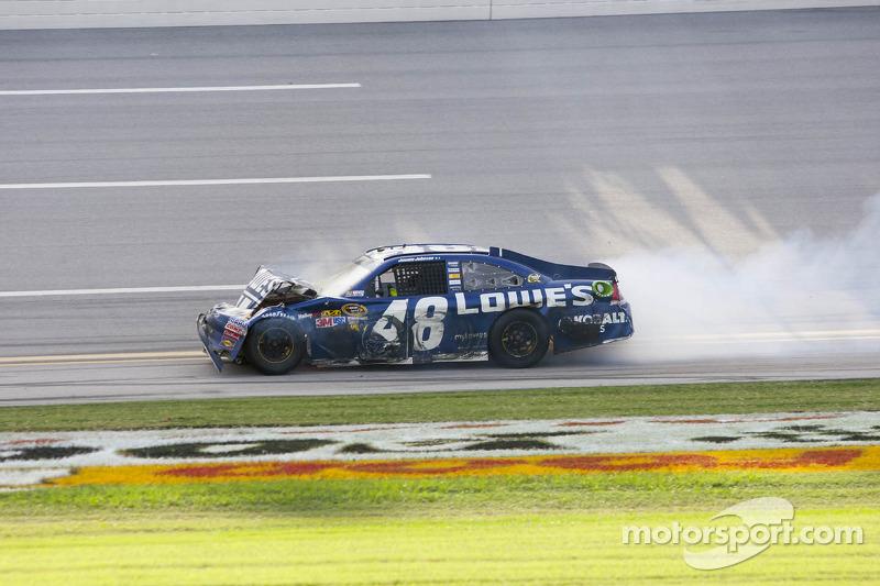 Jimmie Johnson, Hendrick Motorsports Chevrolet finish