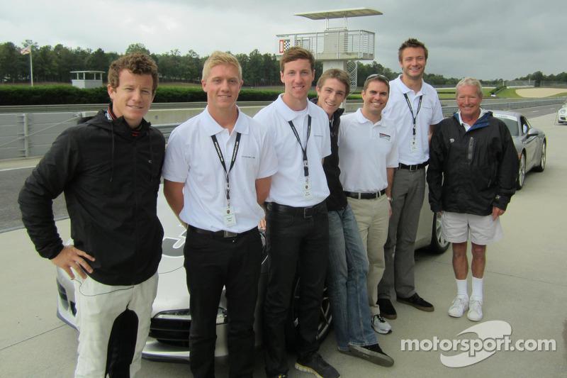 Patrick Long, Spencer Pigot, Kyle Marcelli, Sean Johnston, Andrew Davis, Cooper MacNeil, Hurley Haywood