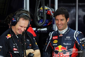 Red Bull Racing: Mark Webber and Christian Horner