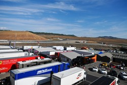 Overview of the paddock