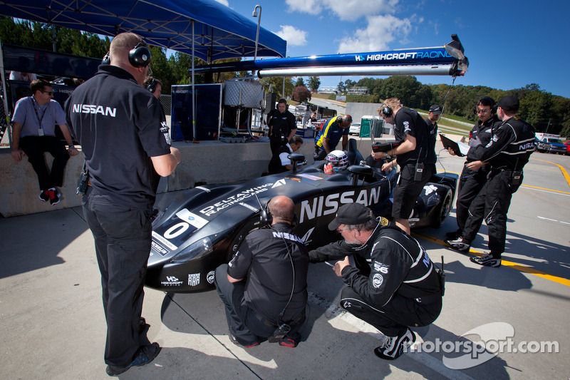 Johnny O'Connell test de #0 Nissan DeltaWing Project 56 Nissan