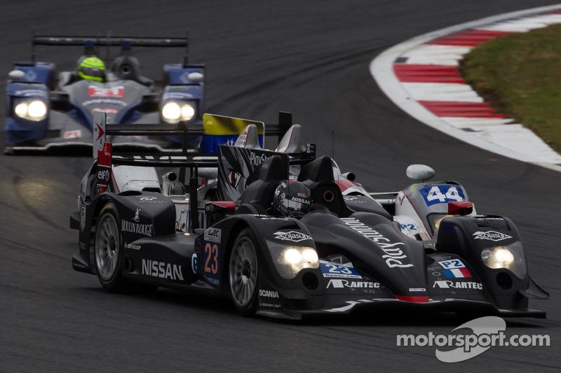 #23 Signatech Oreca 03 Nissan: Jordan Tresson, Franck Mailleux, Olivier Lombard