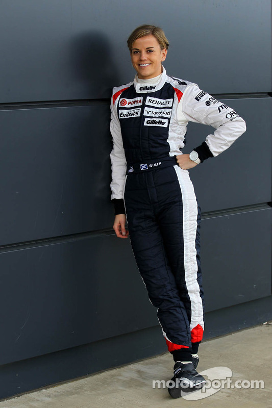 Susie Wolff in de Williams FW33