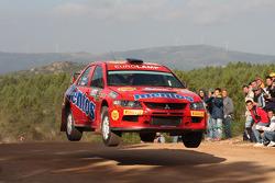 Valeriy Gorban and Andrii Nikolaiev, Mitsubishi Lancer Evo IX