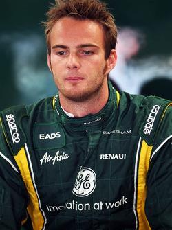 Giedo van der Garde, Caterham Third Driver