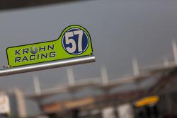 Krohn Racing pit stall