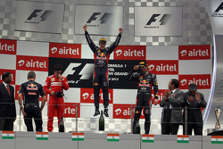 1st place Sebastian Vettel, Red Bull Racing