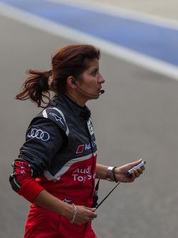 Audi engineer Leena Gade