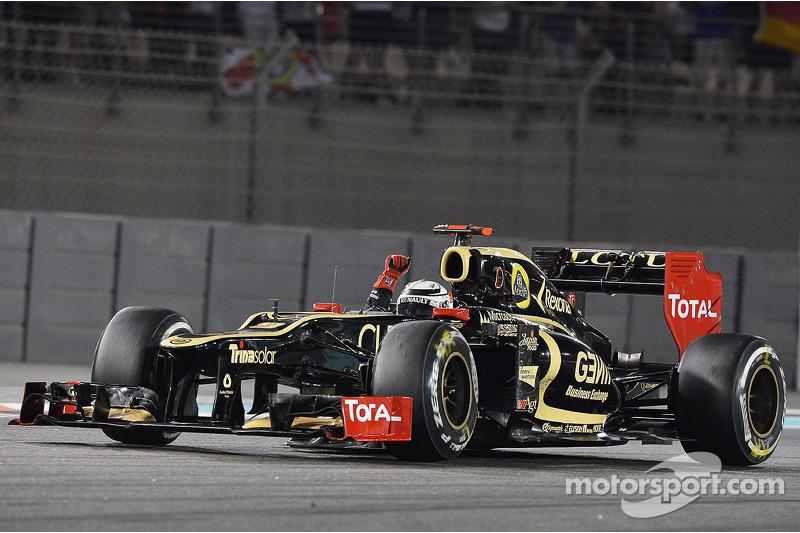 2012: Kimi Räikkönen (Lotus-Renault E20)