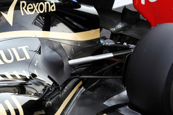 Lotus F1 rear suspension and exhaust detail