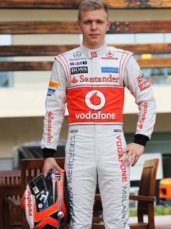 Kevin Magnussen, McLaren piloto de prueba
