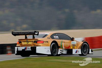 Alex Zanardi BMW test