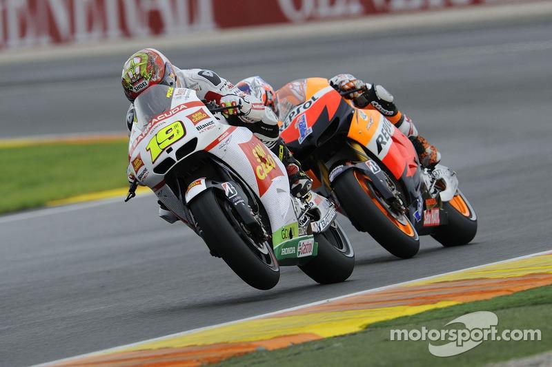 Альваро Баутиста. ГП Валенсии, воскресная гонка.