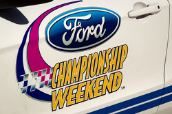 Ford Championship weekend signage