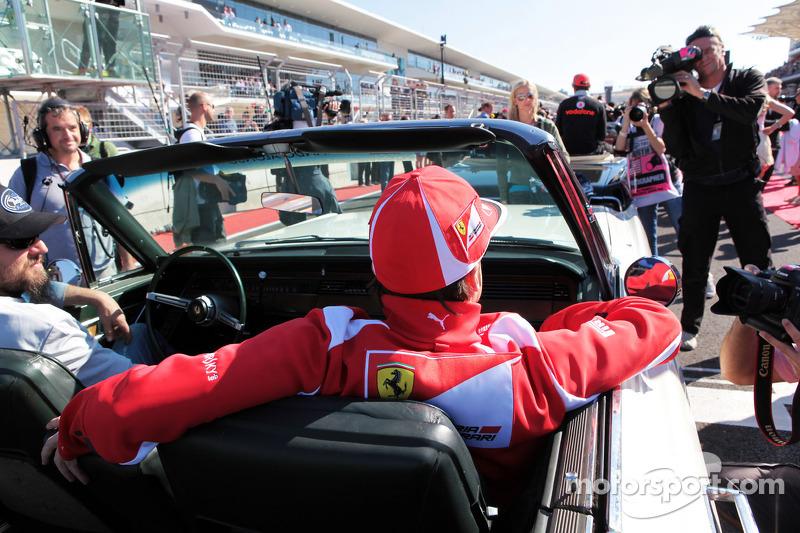 Fernando Alonso, Ferrari tijdens rijdersparade
