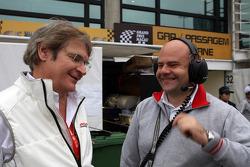 Alessandro Mariani, Team Principal, Honda Racing Team Jas en Andrea Adamo, Chief Designer, Honda Racing Team Jas
