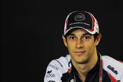 Bruno Senna, Williams in de FIA persconferentie