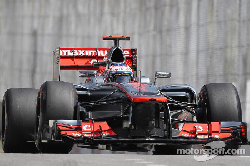 2012 - McLaren MP4-27: quinto lugar no Mundial de Pilotos, com 188 pontos
