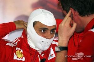 Felipe Massa, Ferrari with Rob Smedley, Ferrari Race Engineer
